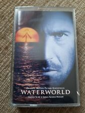 WATERWORLD SOUNDTRACK CASSETTE TAPE - JAMES NEWTON HOWARD - RARE - KEVIN COSTNER