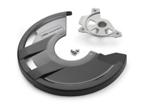 KTM 7900996110030 FRONT BRAKE DISC GUARD COVER & MOUNT EXC-F 350 2019 2020