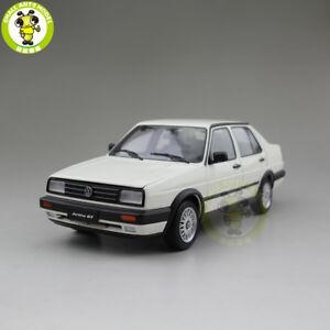 1:18 VW Volkswagen Jetta GT MKII Diecast CAR MODEL Toys kids Boy Girl gift White