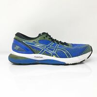 Asics Mens Gel Nimbus 21 1011A169 Blue Black Running Shoes Lace Up Size 9