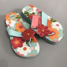 Gymboree New Spring Rainbow Flower Sandal Size 07 NWT