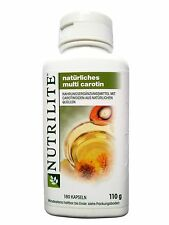 Amway Nutrilite Natural Multi Carotene Vitamin A Anti-Stress Good For Eyes