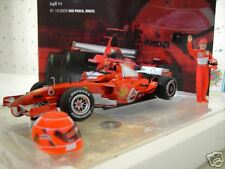 F1  FERRARI 2006 BRAZIL 248F1 SCHUMACHER 1/18 HOT WHEELS J2996 formule 1 voiture