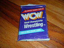 1991-1992 WCW Official Trading Card Pack World Championship Wrestling Unopened