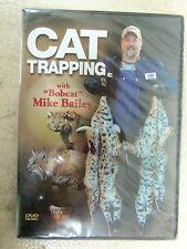 "DVD-Bailey - ""Cat Trapping""  Traps Trapping  Bobcat Duke"