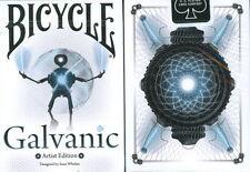 CARTE DA GIOCO  BICYCLE GALVANIC,poker size