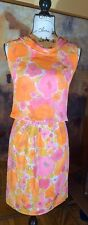 Morelove The Couturier Blouse Vintage 2 Piece Top And Skirt Set Floral 50's 60's