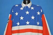 vintage 90s Starter American Flag Symbol Usa Sports All Over Pocket Shirt Xl