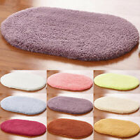 Soft Fluffy Rug Solid Shaggy Area Rugs Dining Room Bedroom Floor Mat Carpet New