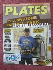 ALPCA License Plates Magazine October 2008 Covers New Jersey Courtesy Venezuela