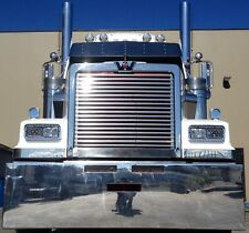 Western Star Stainless Louvered Grill insert. Suits 4800 and 4900.
