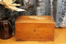 Antique chest made of rare wood of the 19th century of the Russian era