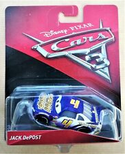 Disney Pixar Cars 3 #4 Jack Depost automobile Mattel in Blister
