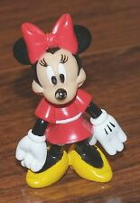 "Walt Disney ""Minnie Mouse"" 2"" Inches Tall Pvc Collectible Toy Figurine *Read*"