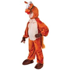 128cm Children's Horse With Head Costume - Fancy Dress Childrens 68 Years Fancy
