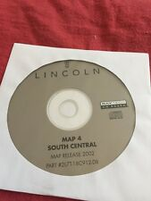 LINCOLN OEM NAVIGATION DISC CD 2L7T-18C912-DB S CENTRAL AR LA MS OK TN TX 4