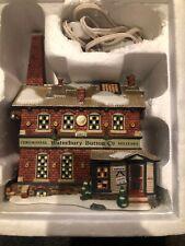 Dept 56 Waterbury Button Company New England Village Series 56666