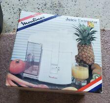 Moulinex Juice Extractor New Open Box M753