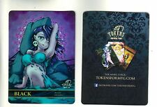 Black Mana Counter FOIL | NM | altered Art Promo - Tokens for MTG | Magic MTG