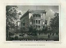 BERLIN Tiergarten schöne Ansicht Original 1882 - Ebay - Sonderpreis!