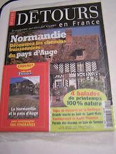 DETOURS DE FRANCE , NORMANDIE PAYS D ' AUGE . NEUF SOUS BLISTER + CARTE MICHELIN
