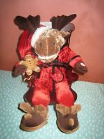 DanDee Grandma Got Run Over By A Reindeer Plush Rocking Chair Singing