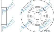 REAR BRAKE DISCS (PAIR) FOR FIAT STILO MULTI GENUINE APEC DSK637