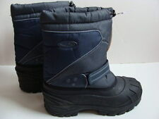 NWT Boys C9 Winter Boots Size 5 Water Resistant Navy Snow Black Lined Warm NEW
