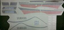 YAMAHA  RD350 RZ350 YPVS F1  MODELS  FULL PAINTWORK DECAL KIT