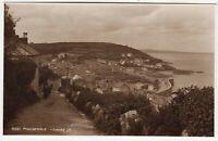 MOUSEHOLE VILLAGE - Cornwall - Judges #8021 - c1920s era real photo postcard