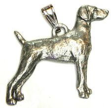 Weimaraner Pendant Dog Harris Fine Pewter Made in Usa jewelry
