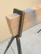 "3/8"" Steel Pipe Stand Holder for Vertical 2 x 4's"