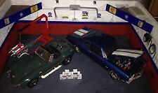 1/18 Scala Diorama GARAGE Hot Rod scatole con marchio di stile #SET 5
