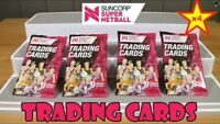 2x 2018 Suncorp Super Netball Trading Cards, Factory Sealed Packs NETBALL