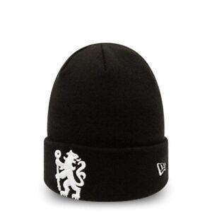Chelsea Football Club Black New Era Beanie Hat | New w/Tags | Top Brand & Item