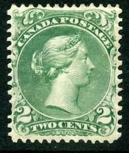 Canada QV 1868 Series Large Queen 2c MM