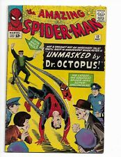 AMAZING SPIDER-MAN 12 - VG 4.0 - 3RD APPEARANCE OF DOCTOR OCTOPUS (1964)