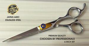 "Professional Salon Barber 6"" Hair Cutting Scissors Hairdressing Premium Shears"