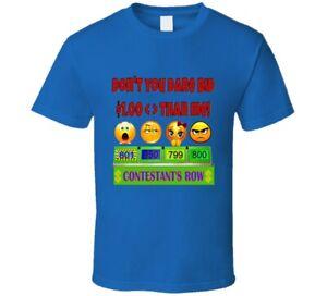 The Price Is Right Game Show Contestant Designer Men Ladies T Shirt Tshirt