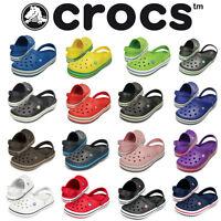 Crocs Crocband Sandals Clogs Unisex Men Women Comfortable Shoes Backstrap NEW
