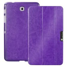 for Samsung Galaxy Tab 4 8.0 Slim Leather Smart Cover Case Sleep/Wake Function