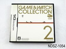 Game & Watch Collection 2 Club Nintendo Nintendo DS Japanese Import JP US Seller