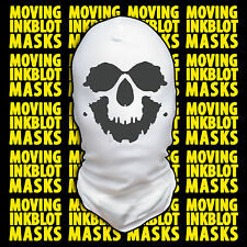 Halloween Costume Rorschach Moving Inkblot Mask -- Death