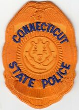 CONNECTICUT STATE POLICE HAT PATCH CT