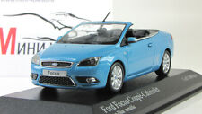 Scale Car 1:43, FORD FOCUS COUPE CABRIOLET 2006 (BLUE METALLIC)