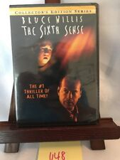 The Sixth Sense Collector's Edition Series By Bruce Willis Dvd! Brand New! U48