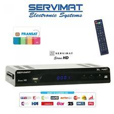 Fransat servimat Sirius decodificatore HD + fransat HD visualizzazione CARD -- OROLOGIO FRANCESE T...
