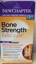 New Chapter Bone Strength Whole Food Calcium Supplement - 270 Slim Tablets  8/21