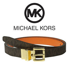 551507 20mm Para Mujer Michael Kors MK firma Cinturón Reversible Twist