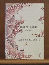 Salman Rushdie, Joseph Anton: A Memoir, *Signed*  1st/1st  Fatwa Satanic Verses